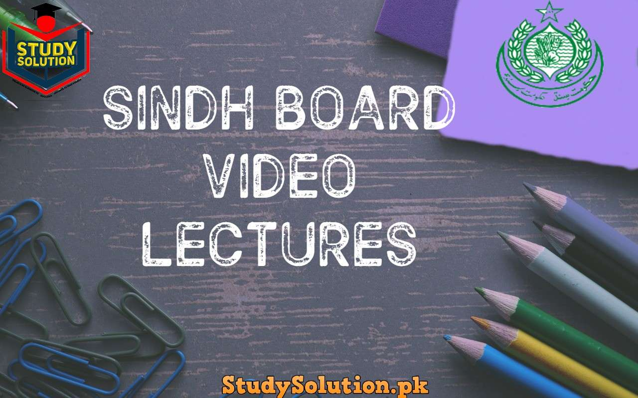 Free Download Sindh Board Video Lectures