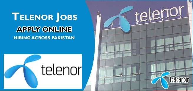 Telenor Latest Vacancies 2021 Apply Online