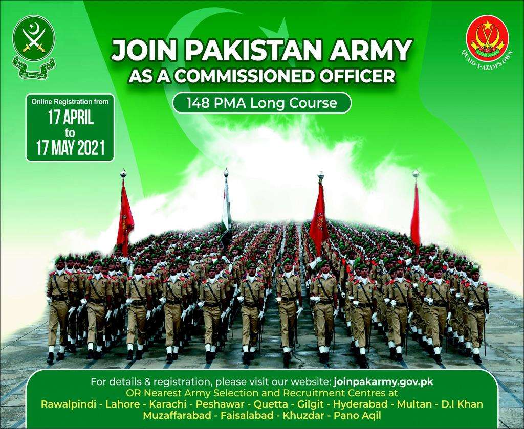 Join Pakistan Army as a Commissioned Officer Latest Jobs 2021