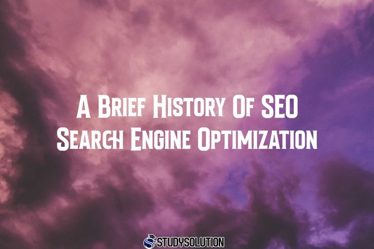 A Brief History Of SEO Search Engine Optimization